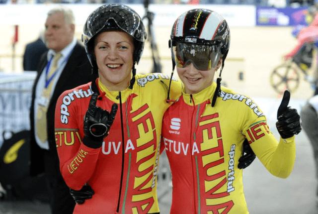 Pasaulio dviračių treko čempionatas su Lietuvos