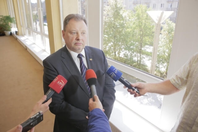 """Photo of P. Narkevičius: """"Žengtas svarbus žingsnis didinant gyventojų pajamas"""""""