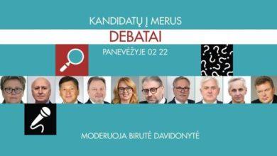 Photo of Šiandien debatai tarp kandidatų į Panevėžio miesto mero postą