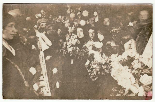 Š. Lopato laidotuvės