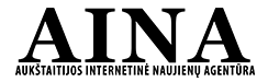 AINA - Aukštaitijos internetinė naujienų agentūra