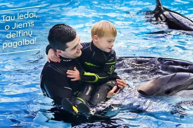 Trečius metus tęsiama akcija: vaikai bus kviečiami į pasimatymą su delfinais | MAXIMA