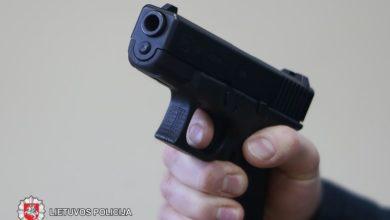 Photo of Panevėžietis nelegaliai laikė šaunamąjį ginklą